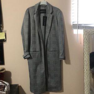 Kendall & Kylie Jackets & Coats - NWT✨KENDALL & KYLIE PLAID PRINT LONG BLAZER COAT